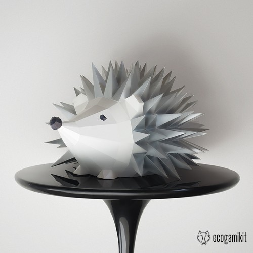 Papercraft Hedgehog